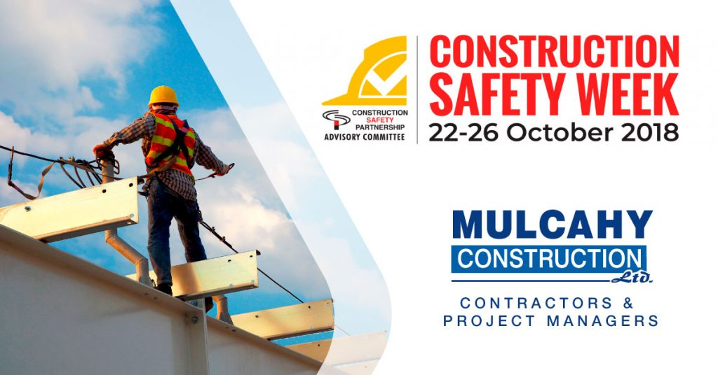 mulcahy construction safety week 2018